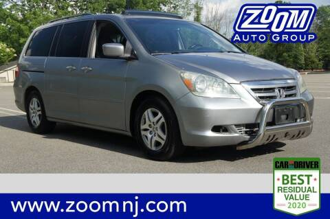 2006 Honda Odyssey for sale at Zoom Auto Group in Parsippany NJ