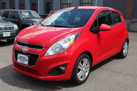 2013 Chevrolet Spark for sale at Grasso's Auto Sales in Providence RI