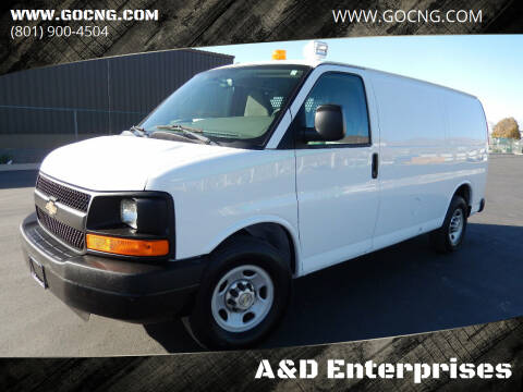 2013 Chevrolet Express Cargo for sale at A&D Enterprises in Spanish Fork UT
