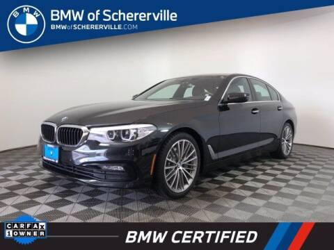 2018 BMW 5 Series for sale at BMW of Schererville in Shererville IN
