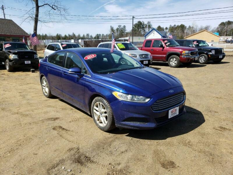 2014 Ford Fusion for sale at Winner's Circle Auto Sales in Tilton NH