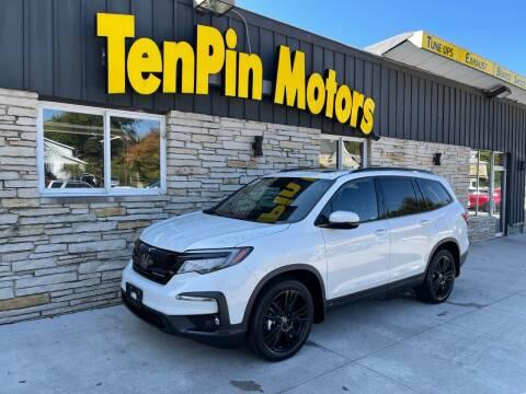2021 Honda Pilot for sale at TenPin Motors LLC in Fort Atkinson WI