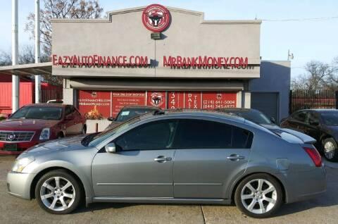 2008 Nissan Maxima for sale at Eazy Auto Finance in Dallas TX
