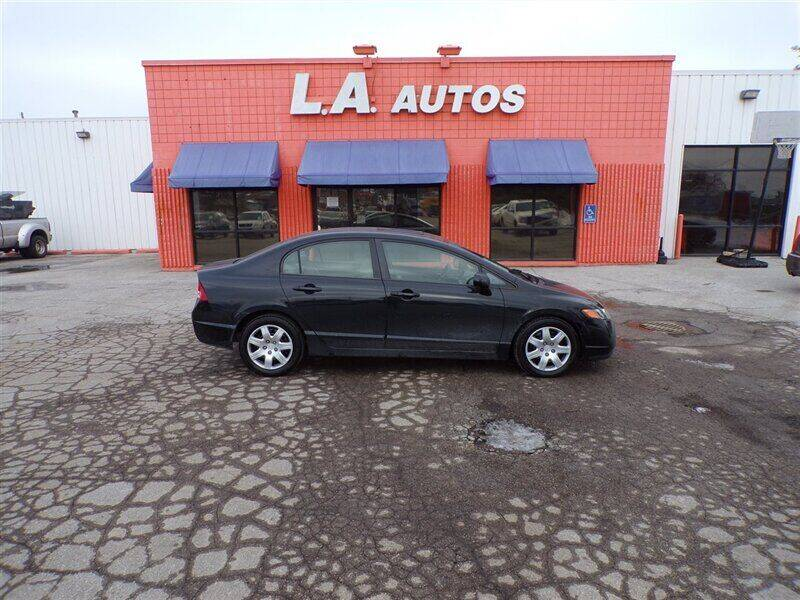 2007 Honda Civic for sale at L A AUTOS in Omaha NE