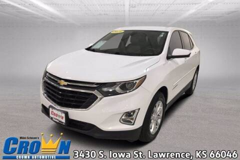 2019 Chevrolet Equinox for sale at Crown Automotive of Lawrence Kansas in Lawrence KS