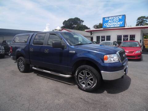 2007 Ford F-150 for sale at Surfside Auto Company in Norfolk VA