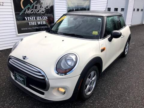 2015 MINI Hardtop 2 Door for sale at HILLTOP MOTORS INC in Caribou ME