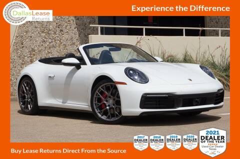 2020 Porsche 911 for sale at Dallas Auto Finance in Dallas TX