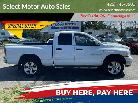 2003 Dodge Ram Pickup 1500 for sale at Select Motor Auto Sales in Lynnwood WA