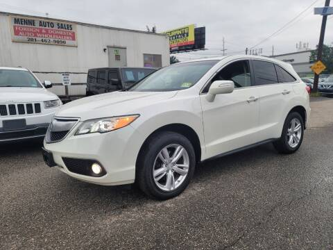 2013 Acura RDX for sale at MENNE AUTO SALES LLC in Hasbrouck Heights NJ