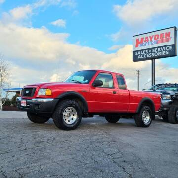 2005 Ford Ranger for sale at Hayden Cars in Coeur D Alene ID