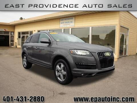 2015 Audi Q7 for sale at East Providence Auto Sales in East Providence RI