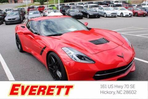 2018 Chevrolet Corvette for sale at Everett Chevrolet Buick GMC in Hickory NC