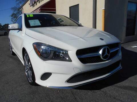 2018 Mercedes-Benz CLA for sale at AutoStar Norcross in Norcross GA