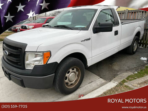 2014 Ford F-150 for sale at Royal Motors in Hyattsville MD