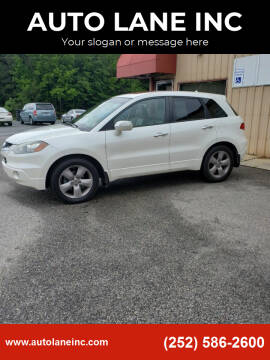2008 Acura RDX for sale at AUTO LANE INC in Henrico NC