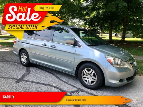 2007 Honda Odyssey for sale at CARLUX in Fortville IN