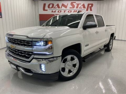 2017 Chevrolet Silverado 1500 for sale at Loan Star Motors in Humble TX