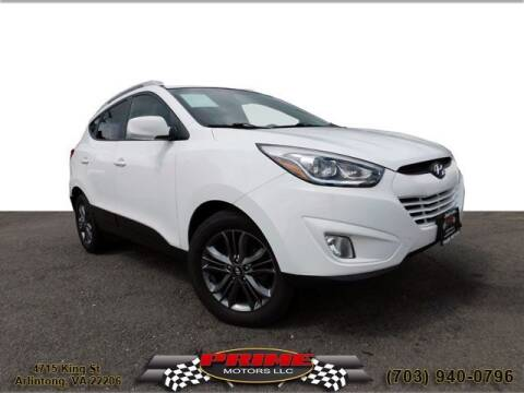 2014 Hyundai Tucson for sale at PRIME MOTORS LLC in Arlington VA