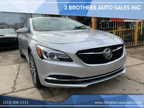 2018 Buick LaCrosse for sale at 3 Brothers Auto Sales Inc in Detroit MI