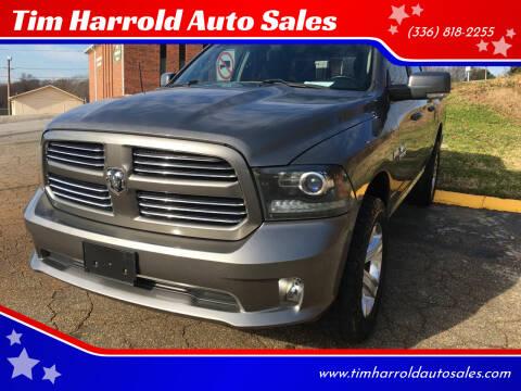 2013 RAM Ram Pickup 1500 for sale at Tim Harrold Auto Sales in Wilkesboro NC
