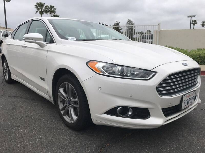 2016 Ford Fusion Energi for sale at CENTURY MOTORS in Fresno CA