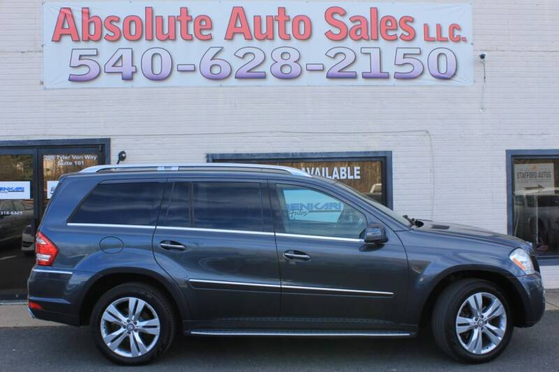 2011 Mercedes-Benz GL-Class for sale at Absolute Auto Sales in Fredericksburg VA