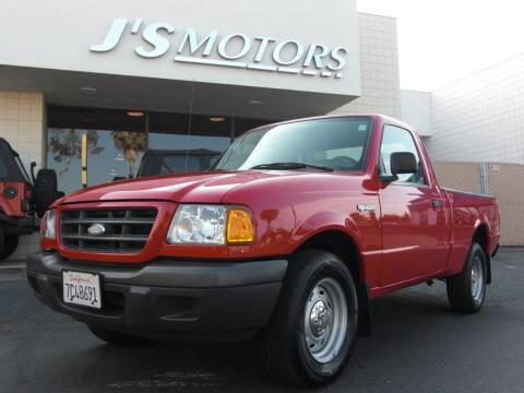 2003 Ford Ranger for sale at J'S MOTORS in San Diego CA