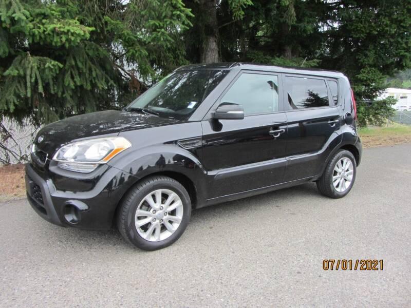 2012 Kia Soul for sale at B & C Northwest Auto Sales in Olympia WA