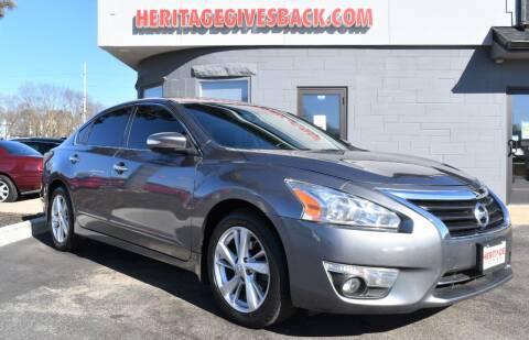 2015 Nissan Altima for sale at Heritage Automotive Sales in Columbus in Columbus IN