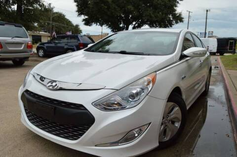 2013 Hyundai Sonata Hybrid for sale at E-Auto Groups in Dallas TX