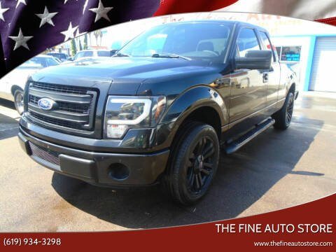 2013 Ford F-150 for sale at The Fine Auto Store in Imperial Beach CA
