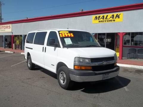 2006 Chevrolet Express Passenger for sale at Atayas Motors INC #1 in Sacramento CA