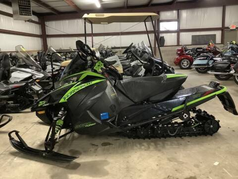2019 Arctic Cat ZR 9000 ThunderCat 137 for sale at Road Track and Trail in Big Bend WI