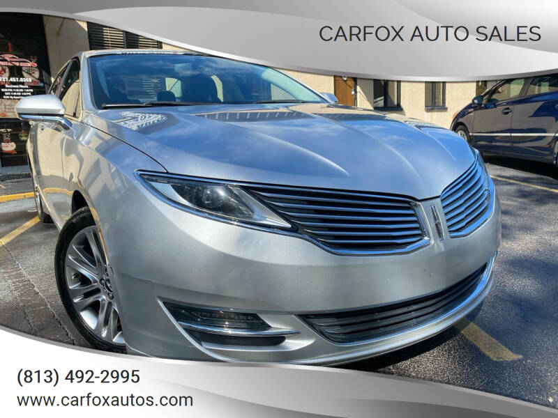 2013 Lincoln MKZ for sale at Carfox Auto Sales in Tampa FL