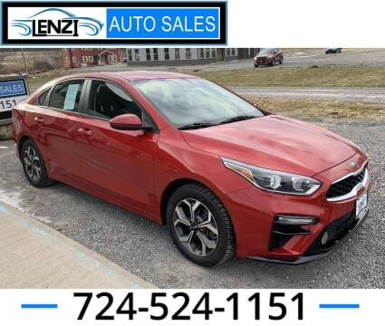 2019 Kia Forte for sale at LENZI AUTO SALES in Sarver PA