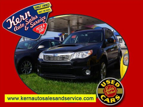 2009 Subaru Forester for sale at Kern Auto Sales & Service LLC in Chelsea MI