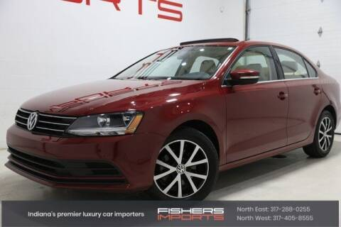 2017 Volkswagen Jetta for sale at Fishers Imports in Fishers IN