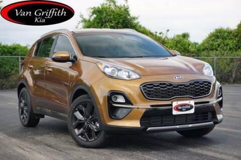 2021 Kia Sportage for sale at Van Griffith Kia Granbury in Granbury TX