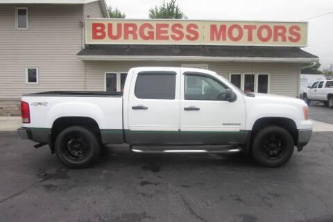 2011 GMC Sierra 1500 for sale at Burgess Motors Inc in Michigan City IN