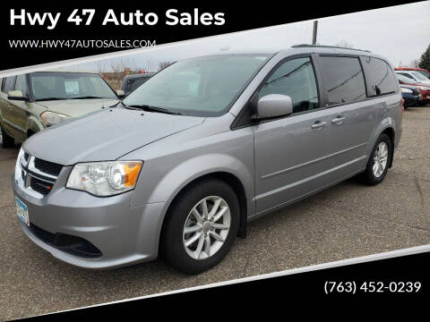2013 Dodge Grand Caravan for sale at Hwy 47 Auto Sales in Saint Francis MN