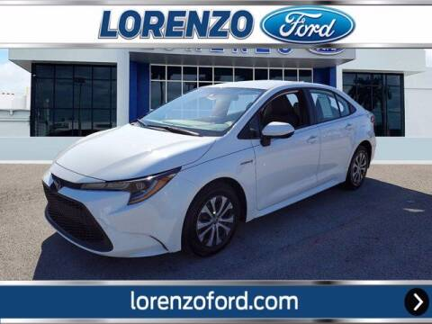 2020 Toyota Corolla Hybrid for sale at Lorenzo Ford in Homestead FL