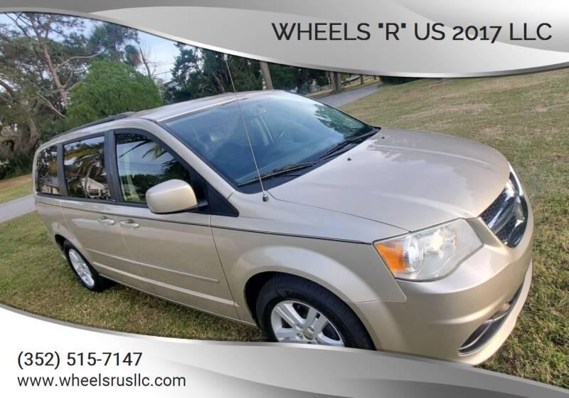 "2012 Dodge Grand Caravan for sale at WHEELS ""R"" US 2017 LLC in Hudson FL"