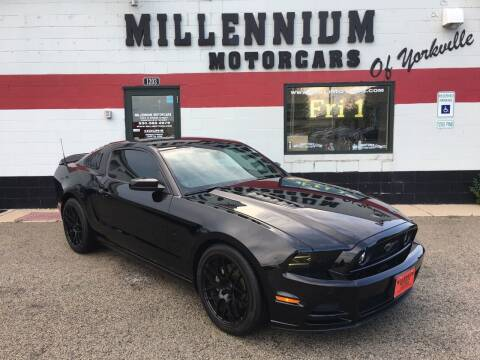 2013 Ford Mustang for sale at Millennium Motorcars in Yorkville IL