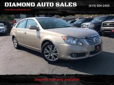 2009 Toyota Avalon for sale at DIAMOND AUTO SALES in El Cajon CA