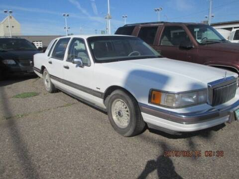 1990 Lincoln Town Car for sale at Auto Acres in Billings MT