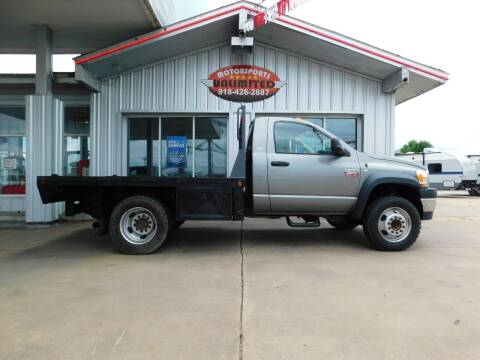 2008 Dodge Ram Chassis 4500 for sale at Motorsports Unlimited in McAlester OK