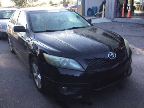 2011 Toyota Camry for sale at Top Garage Commercial LLC in Ocoee FL