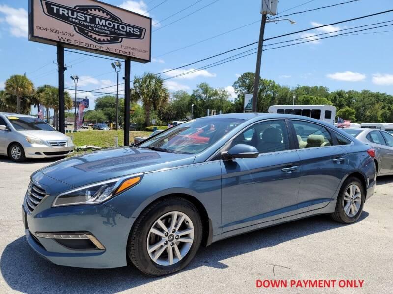 2015 Hyundai Sonata for sale at Trust Motors in Jacksonville FL