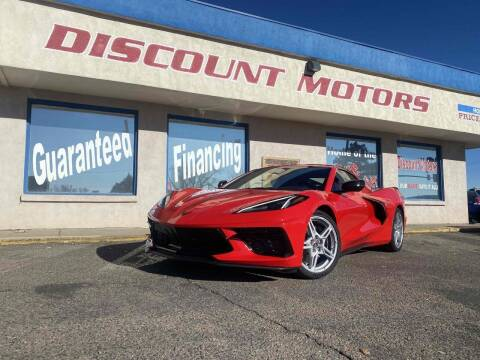 2020 Chevrolet Corvette for sale at Discount Motors in Pueblo CO